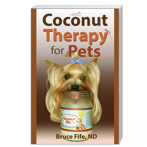 Coconut Therapy for Pets Front Cover by Bruce Fife