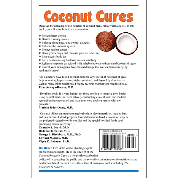 Coconut Cures Back Cover