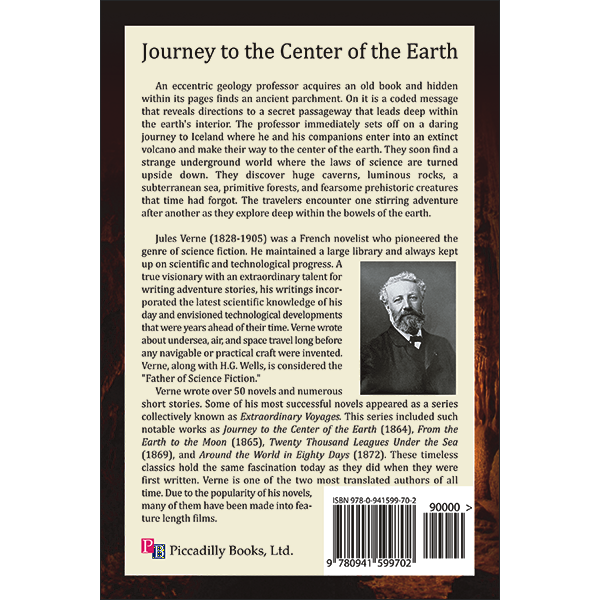 a journey to the centre of the earth book