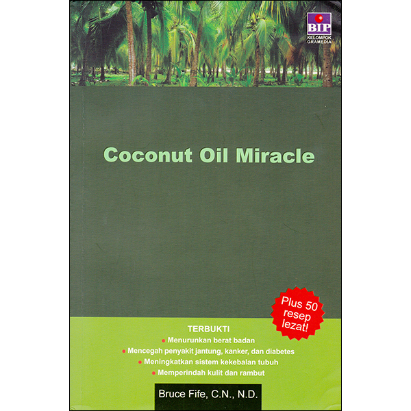 Coconut Oil Miracle Front Cover Indonesion